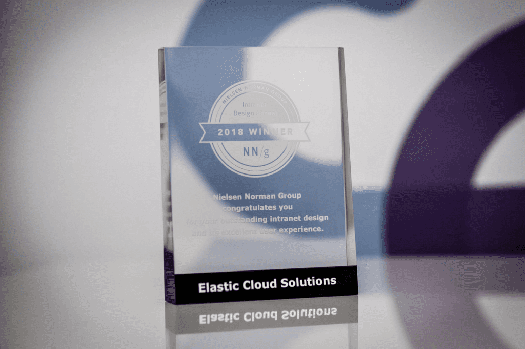 NNG Award for Elastic Workplace