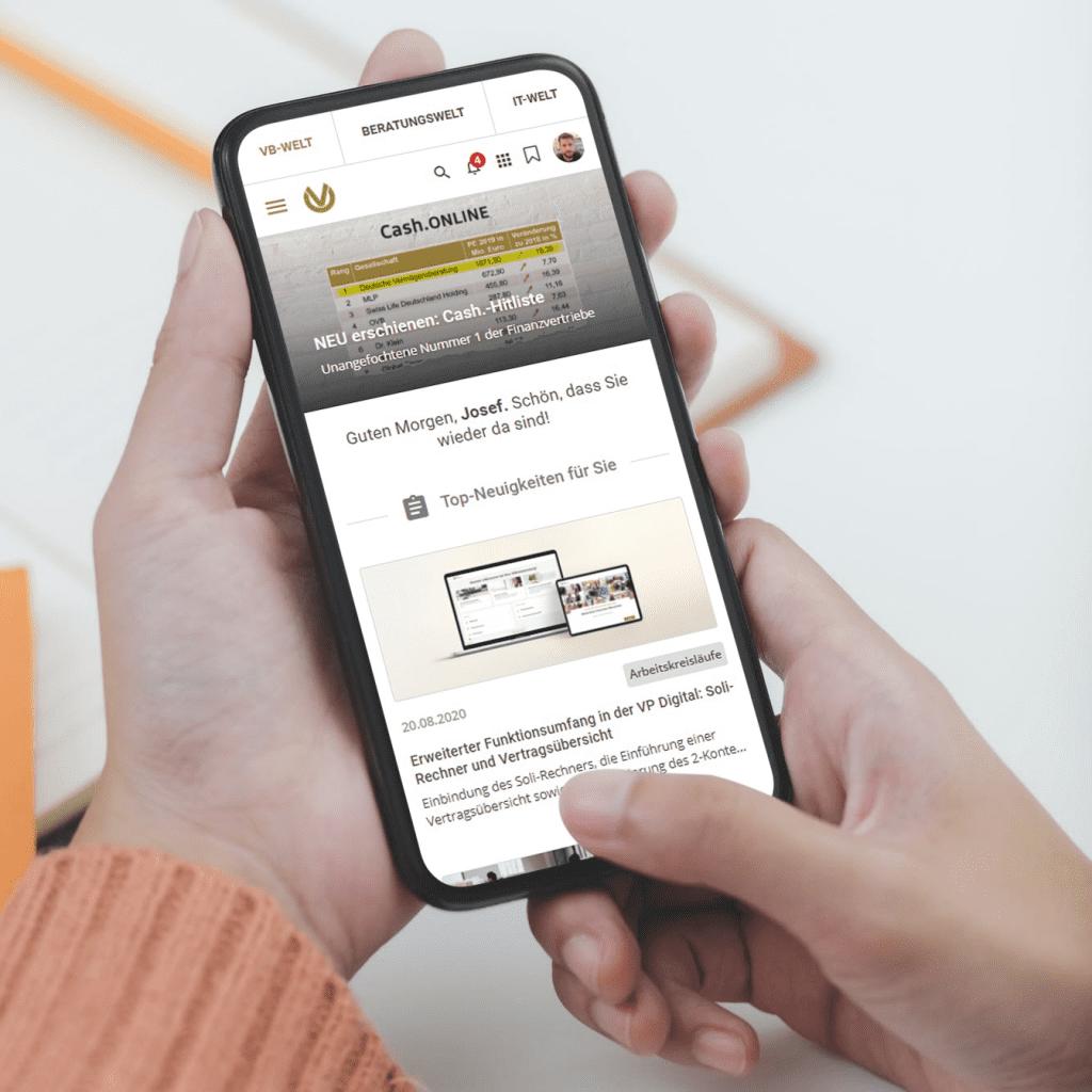 Best mobile intranet design