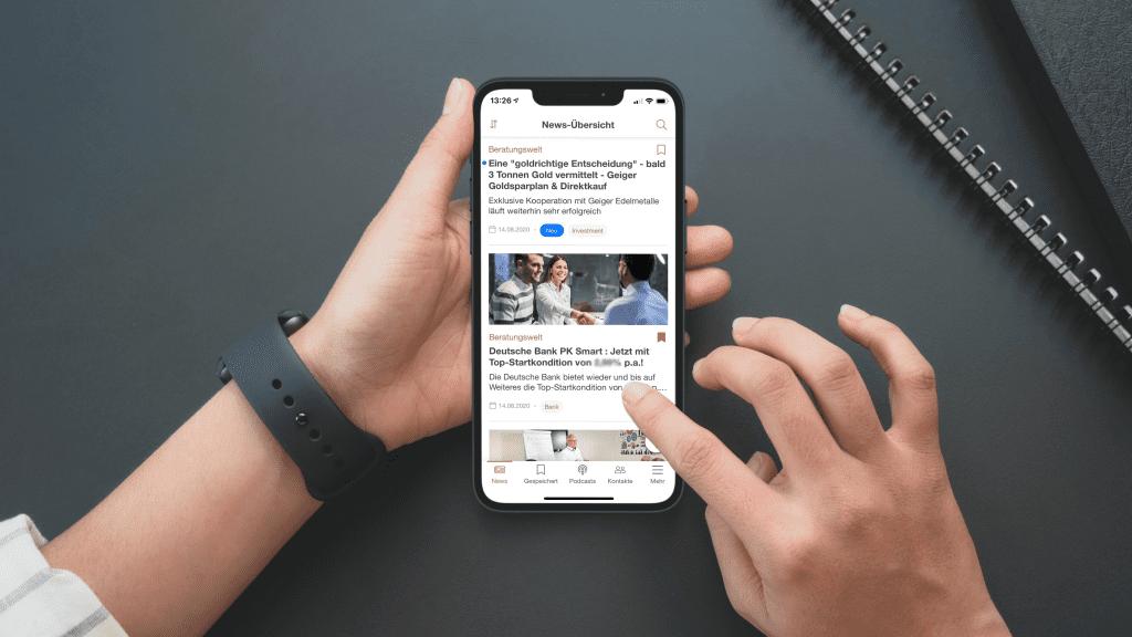 Intranet mobile app design